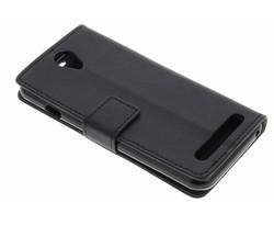 Zwart zakelijke TPU booktype hoes Acer Liquid Z6