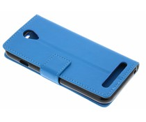 Blauw zakelijke TPU booktype hoes Acer Liquid Z6