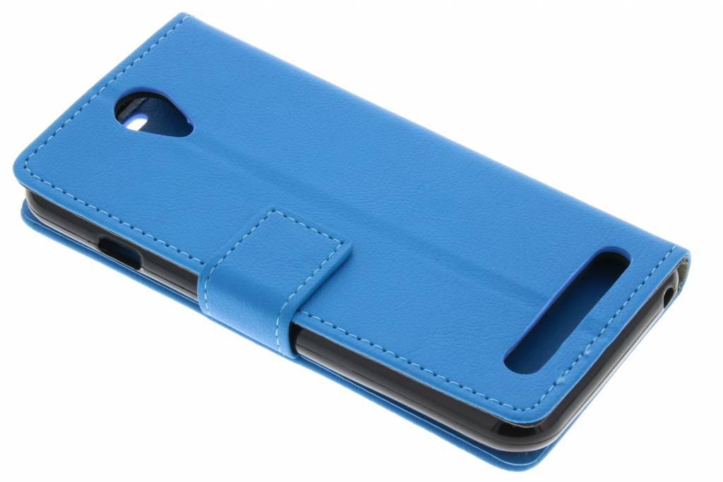 Blauwe TPU Bookcase voor de Acer Liquid Z6