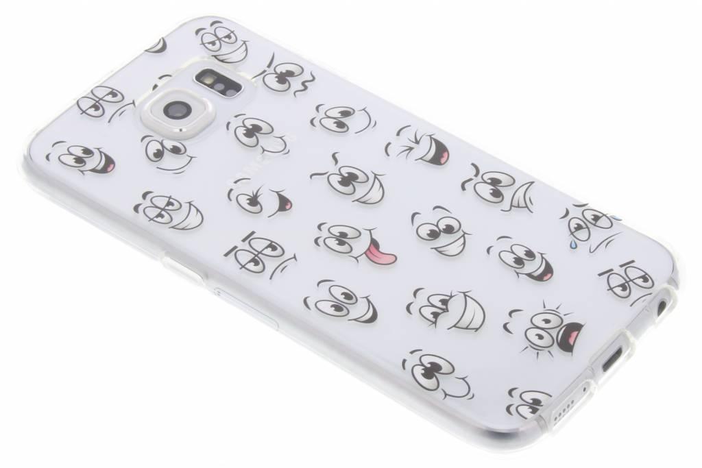 Smiley design TPU hoesje voor de Samsung Galaxy S6