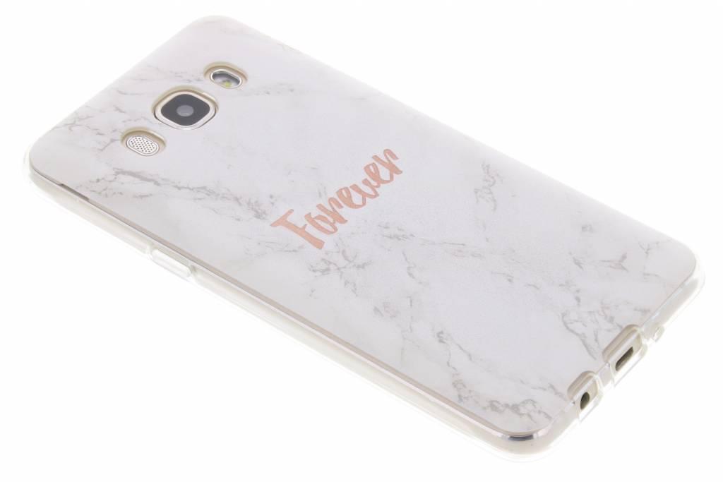 BFF White Marble Love TPU hoesje voor de Samsung Galaxy J5 (2016)