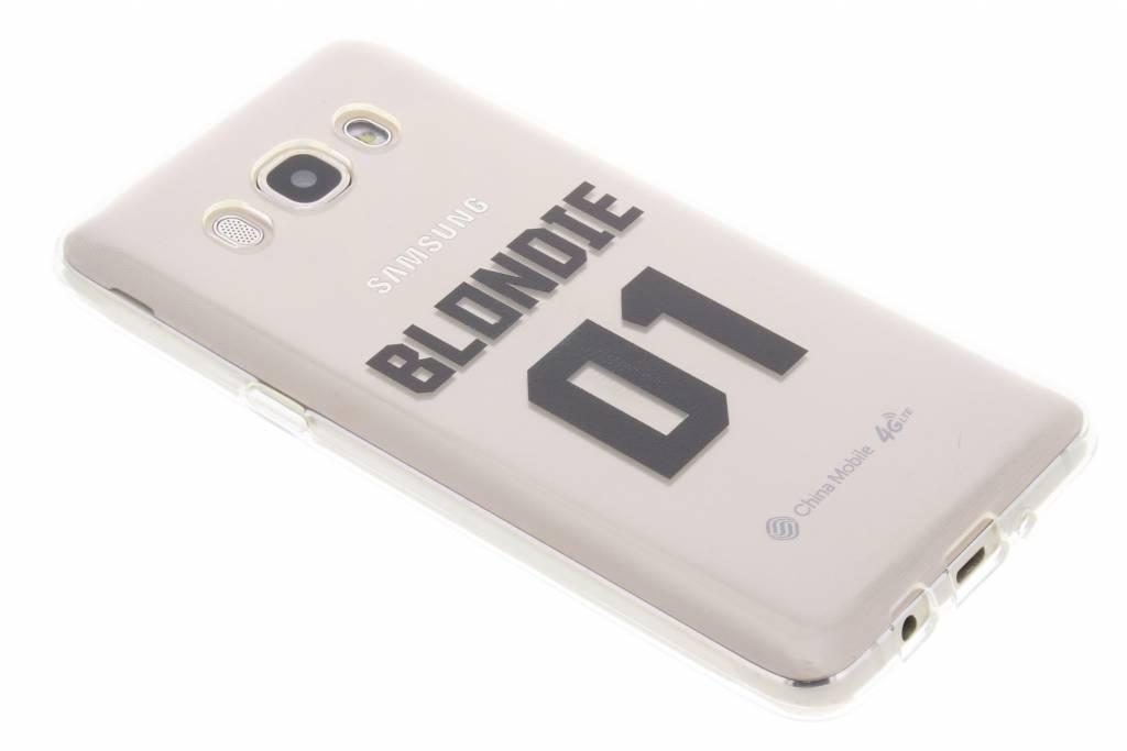 BFF Blondie Love TPU hoesje voor de Samsung Galaxy J5 (2016)