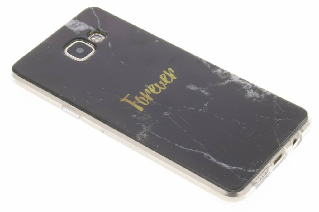 BFF Black Marble Love TPU hoesje voor de Samsung Galaxy A5 (2016)