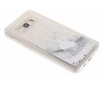Zilver Liquid Glitter Case Samsung Galaxy J5 (2016)
