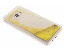 Goud Liquid Glitter Case Samsung Galaxy J5 (2016)
