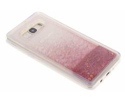 Roze Liquid Glitter Case Samsung Galaxy J5 (2016)