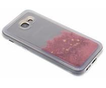 Roze Liquid Glitter Case Samsung Galaxy A5 (2017)