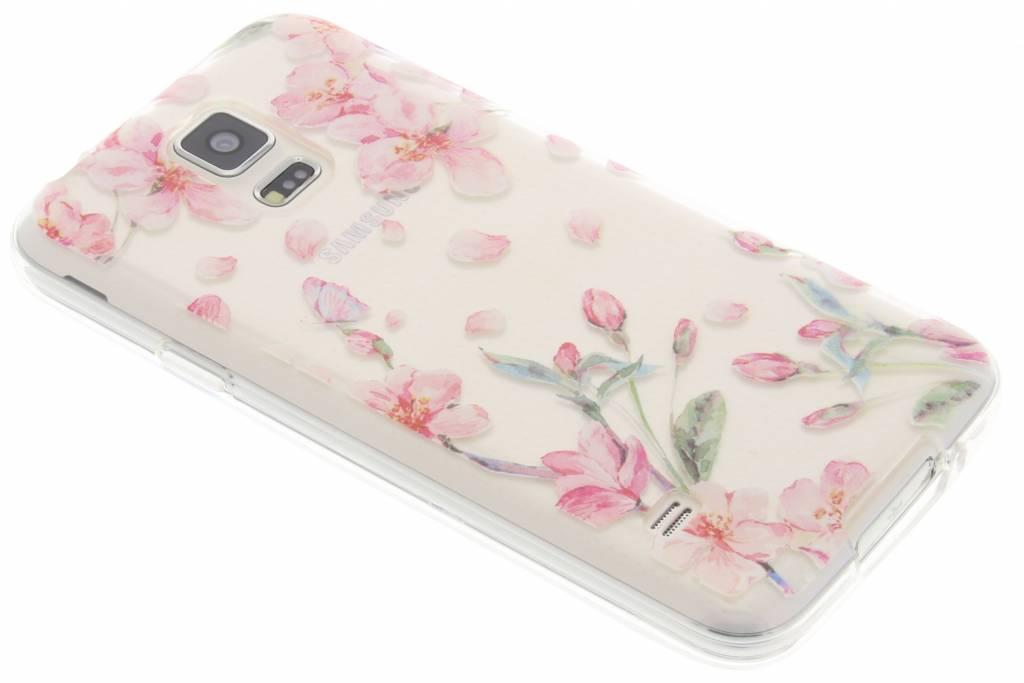 Bloesem Watercolor TPU hoesje Samsung Galaxy S5 (Plus) / Neo