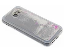 Zilver Liquid Glitter Case Samsung Galaxy A5 (2017)