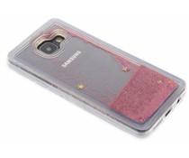 Roze Liquid Glitter Case Samsung Galaxy A3 (2016)