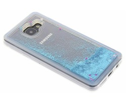 Blauw Liquid Glitter Case Samsung Galaxy A3 (2016)