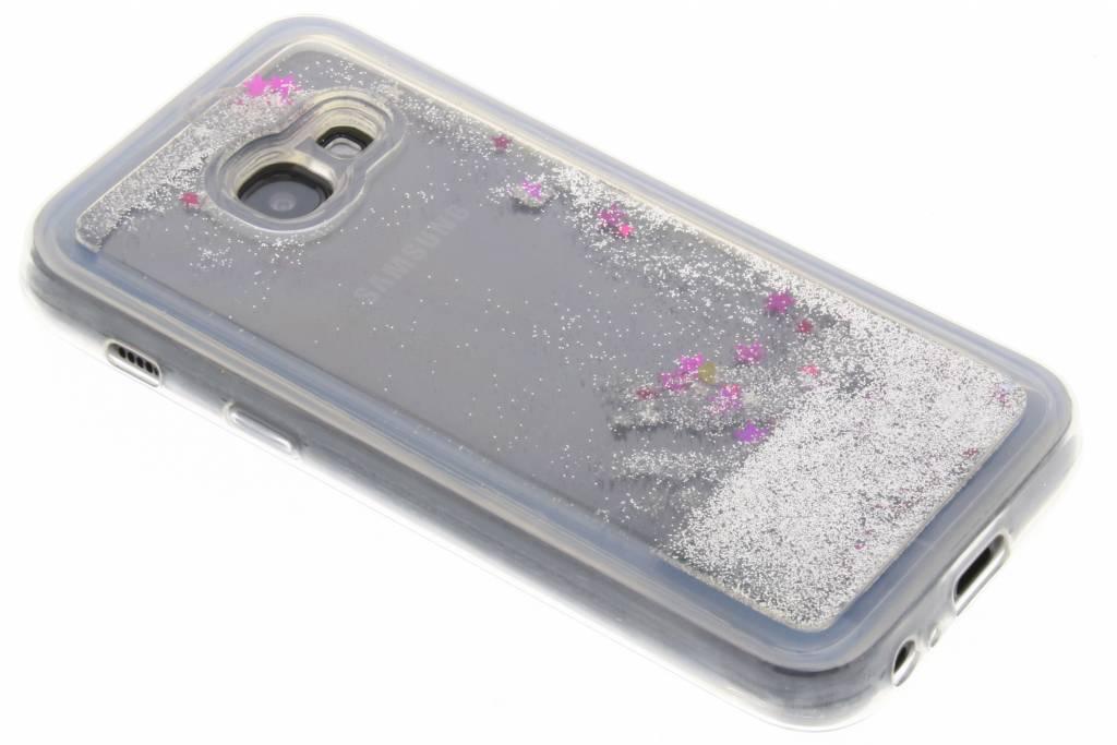 Cas De Scintillement Liquide Bleu Pour Samsung Galaxy A3 (2017) RjZBOQ