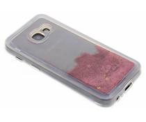 Roze Liquid Glitter Case Samsung Galaxy A3 (2017)