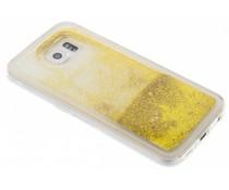 Goud Liquid Glitter Case Samsung Galaxy S6