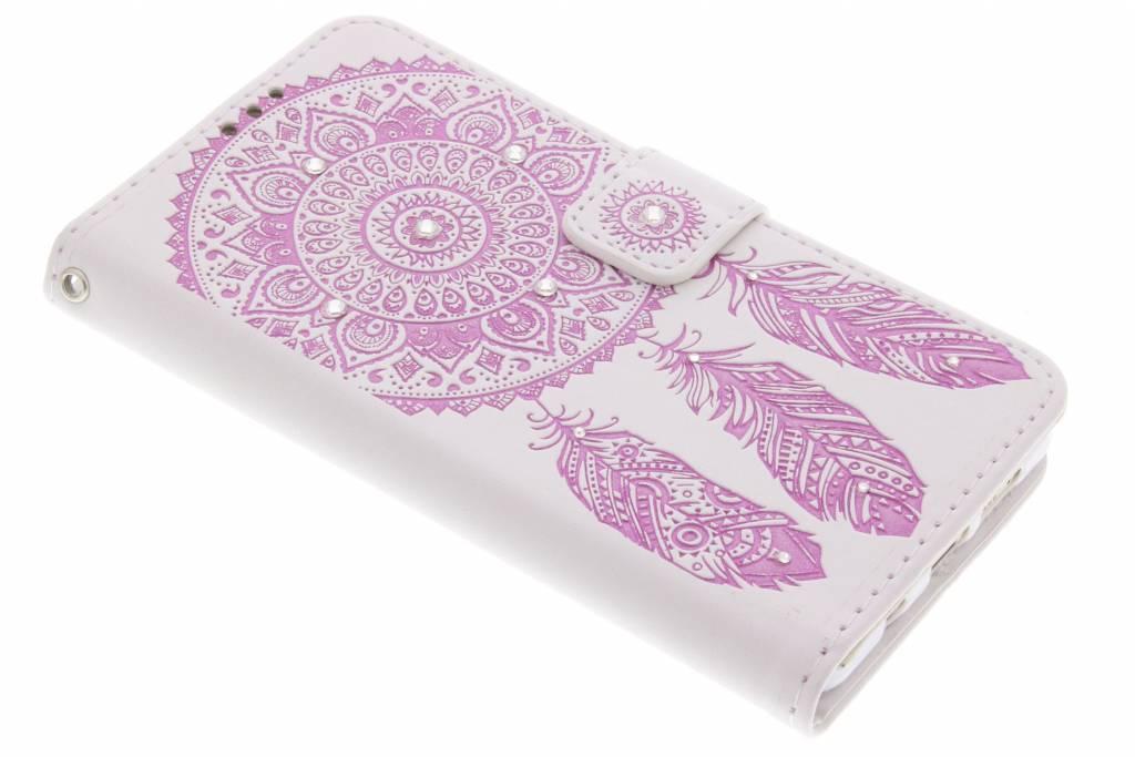 Roze bohemian booktype hoes voor de Samsung Galaxy A5 (2016)