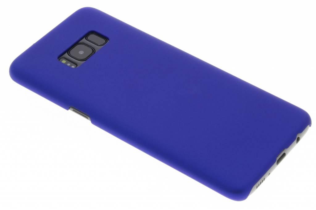 Blauw effen hardcase hoesje voor de Samsung Galaxy S8