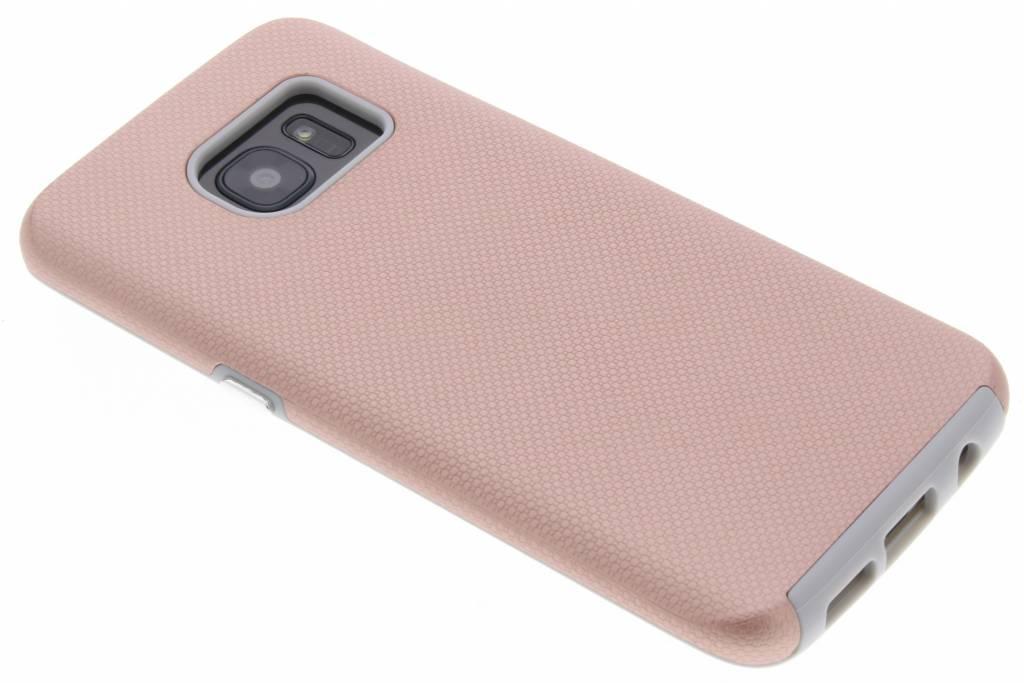 Accezz Rosé Gouden Xtreme Cover voor de Samsung Galaxy S7 Edge