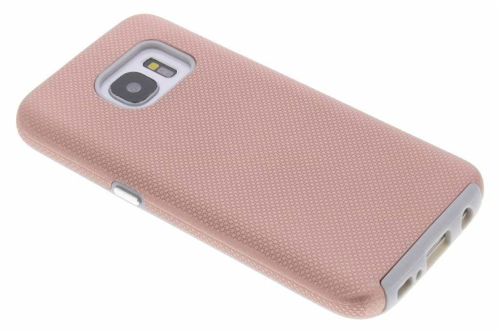 Accezz Rosé Gouden Xtreme Cover voor de Samsung Galaxy S7