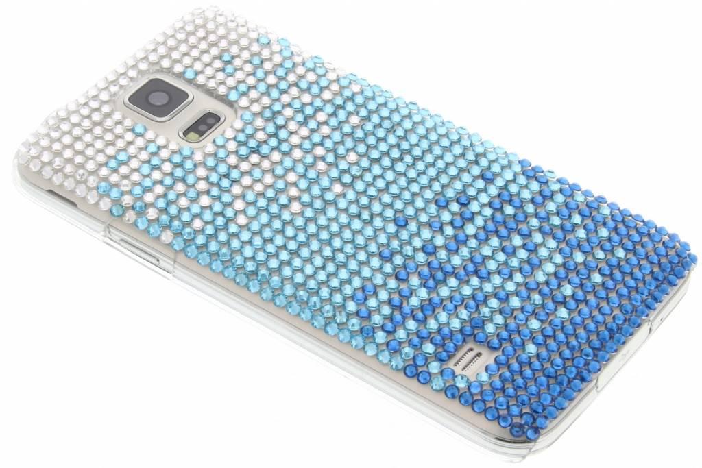 Glazen strass hardcase hoesje voor de Samsung Galaxy S5 (Plus) / Neo