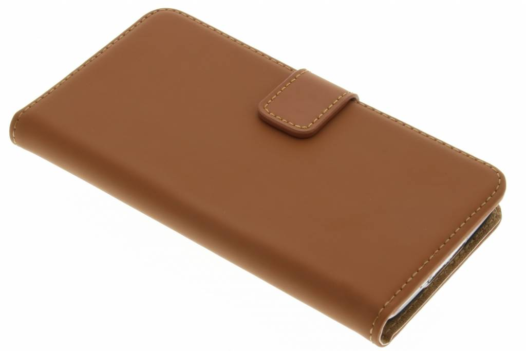 Selencia Luxe Book Case voor de Samsung Galaxy S5 (Plus) / Neo - Bruin