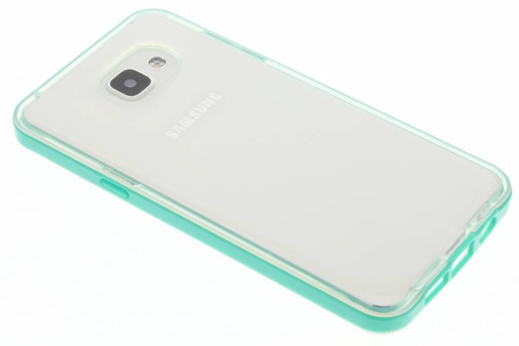 Groene bumper TPU case voor de Samsung Galaxy A5 (2016)
