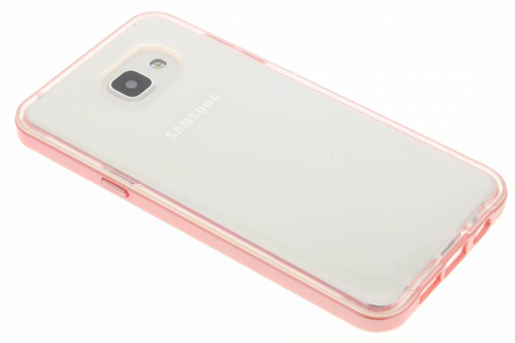 Roze bumper TPU case voor de Samsung Galaxy A5 (2016)