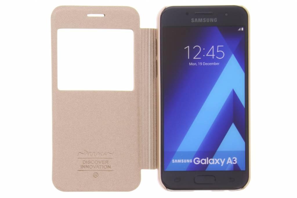 Or Étincelle Booktype Smart Cover Pour Samsung Galaxy A3 (2017) Rpr9jqoZ