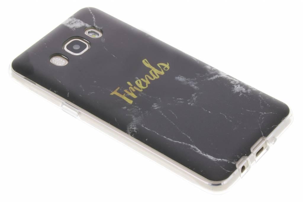 BFF Black Marble Love TPU hoesje voor de Samsung Galaxy J5 (2016)