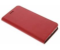 Rood zakelijke booktype hoes Huawei Mate 9