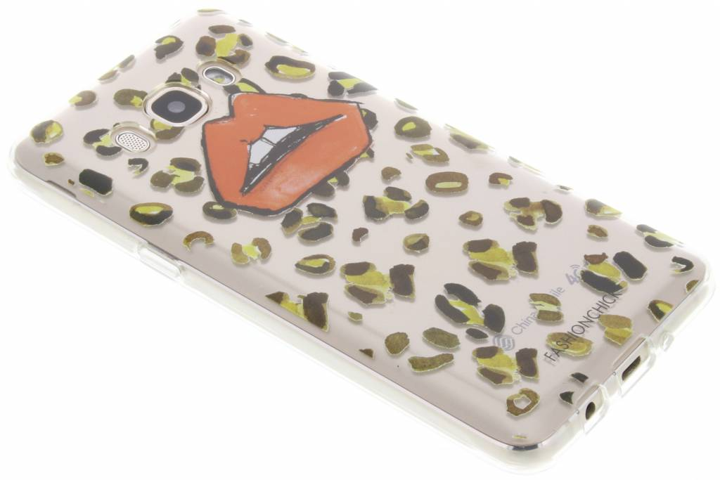 Fashionchick Leopard Softcase Samsung voor de Galaxy J5 (2016)