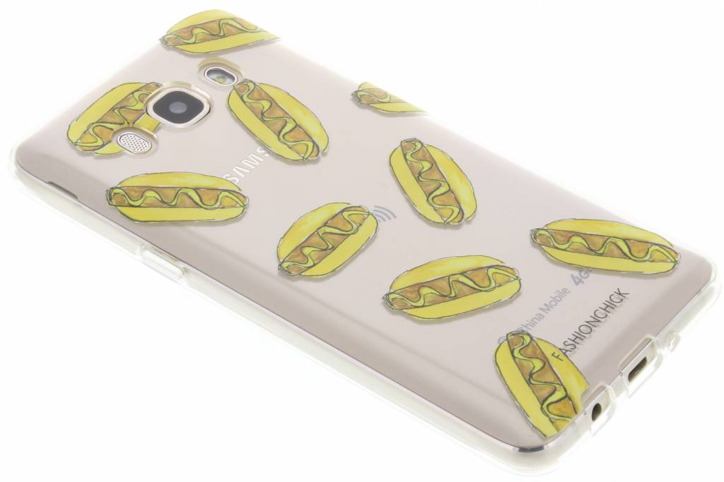 Fashionchick Hotdog Softcase Samsung voor de Galaxy J5 (2016)