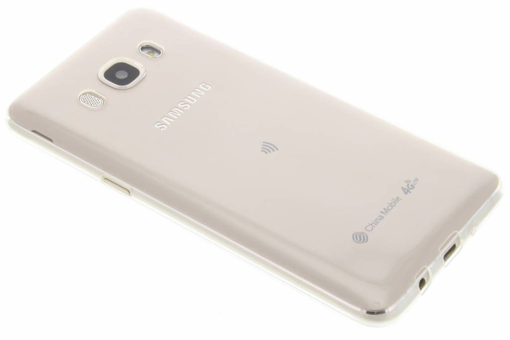 Ultra thin transparant TPU hoesje voor de Samsung Galaxy J5 (2016)