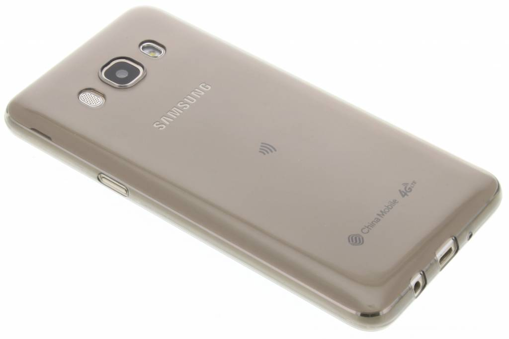Grijs ultra thin transparant TPU hoesje voor de Samsung Galaxy J5 (2016)