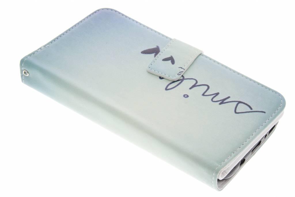 Smile design TPU portemonnee voor de Samsung Galaxy S8 Plus
