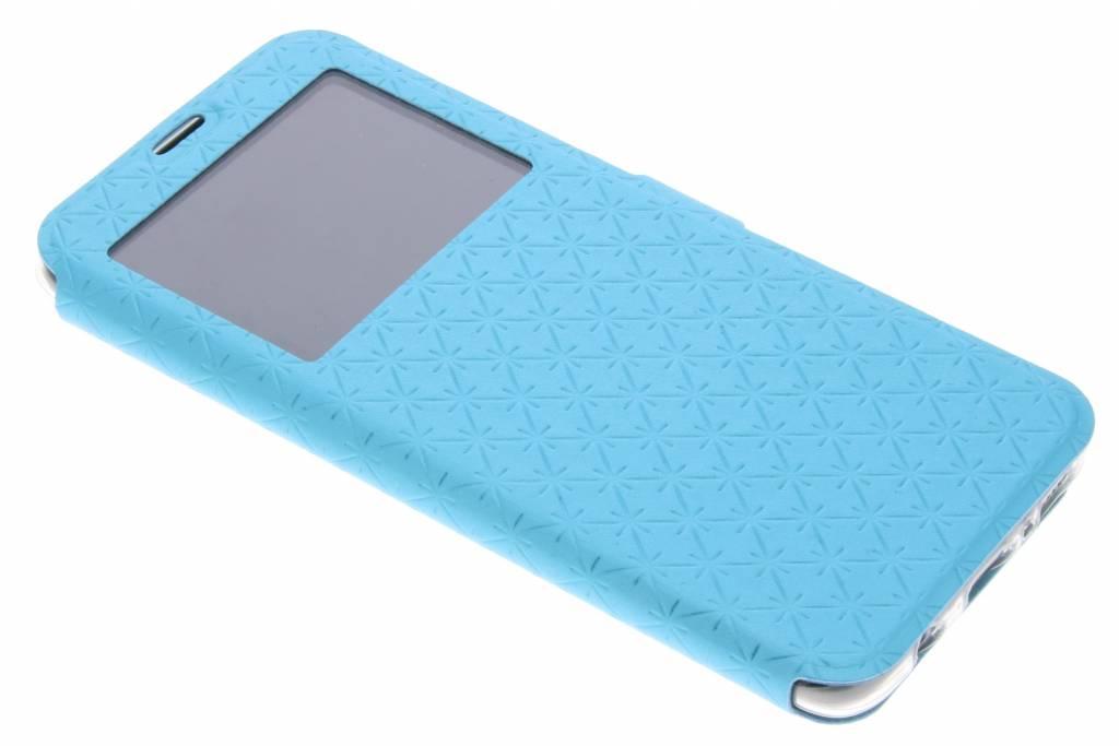 Blauw Rhombus hoesje voor de Samsung Galaxy S8 Plus
