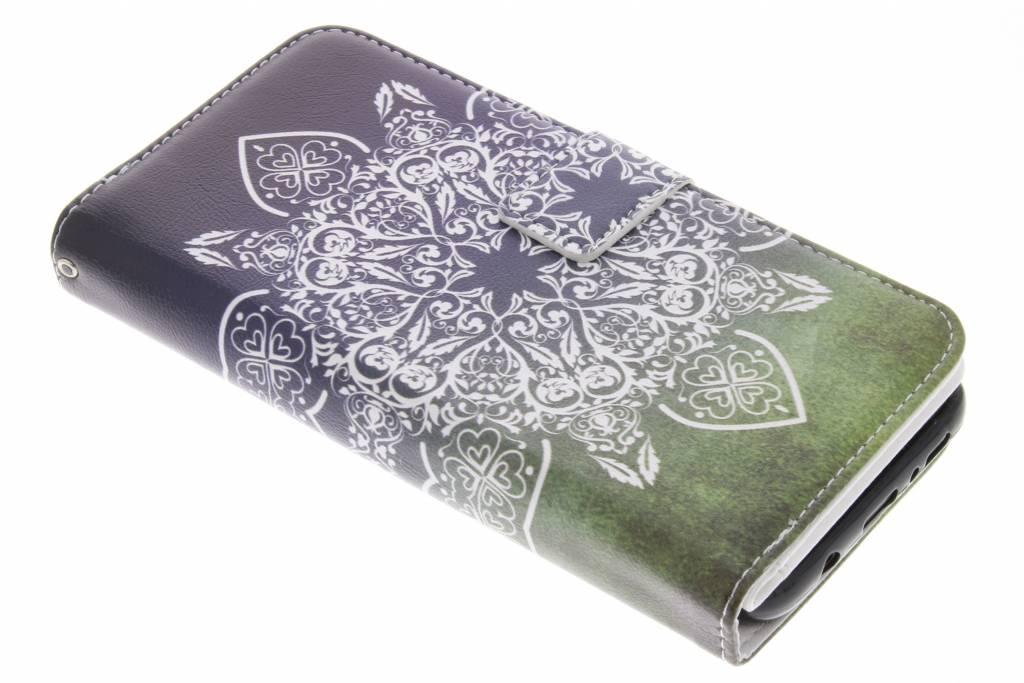 Mandala design TPU portemonnee voor de Samsung Galaxy S8 Plus