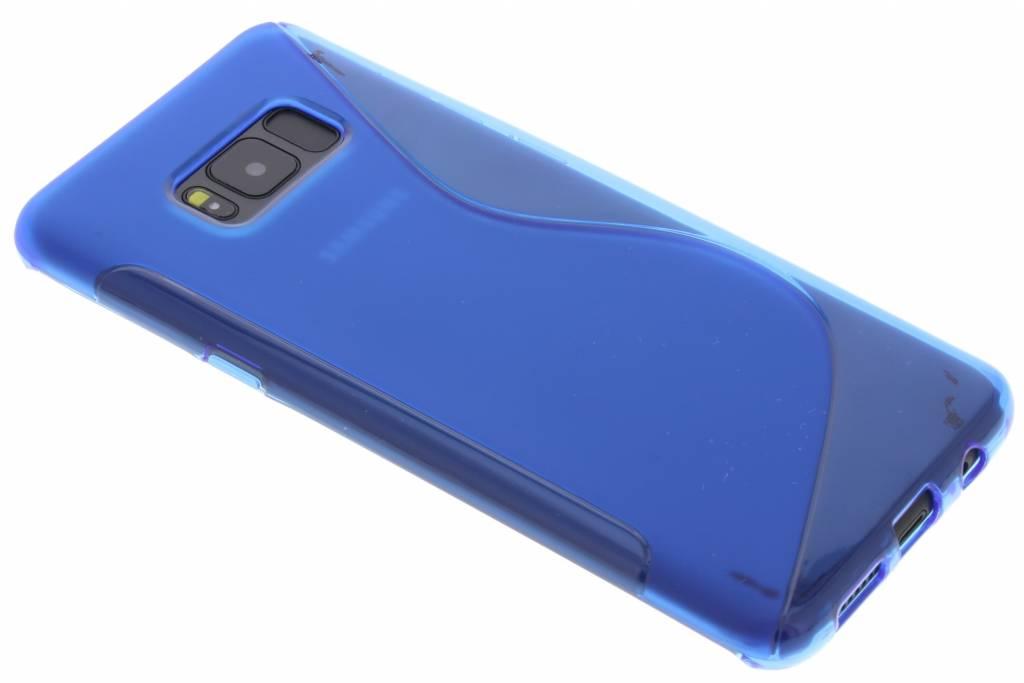 Blauw S-Line TPU hoesje voor de Samsung Galaxy S8 Plus
