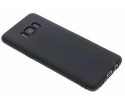 Zwart Color TPU hoesje Samsung Galaxy S8