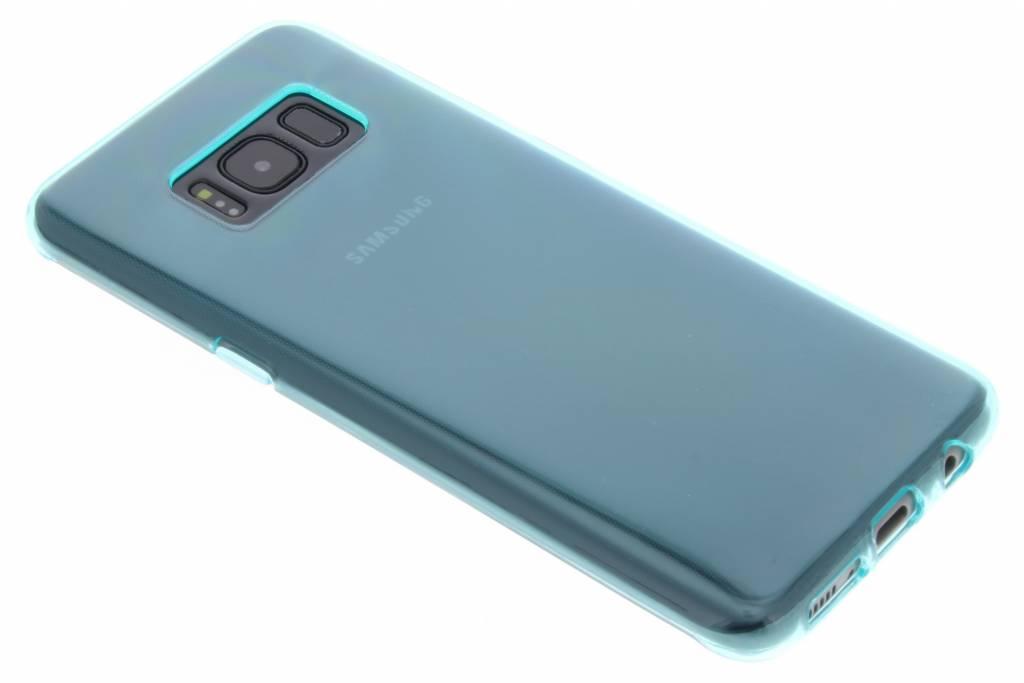 Blauwe transparant gel case voor de Samsung Galaxy S8