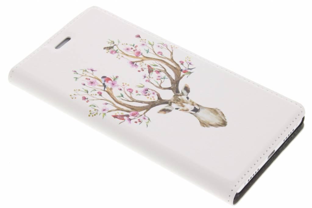 Hert Watercolor Design Booklet voor de Huawei P9 Lite