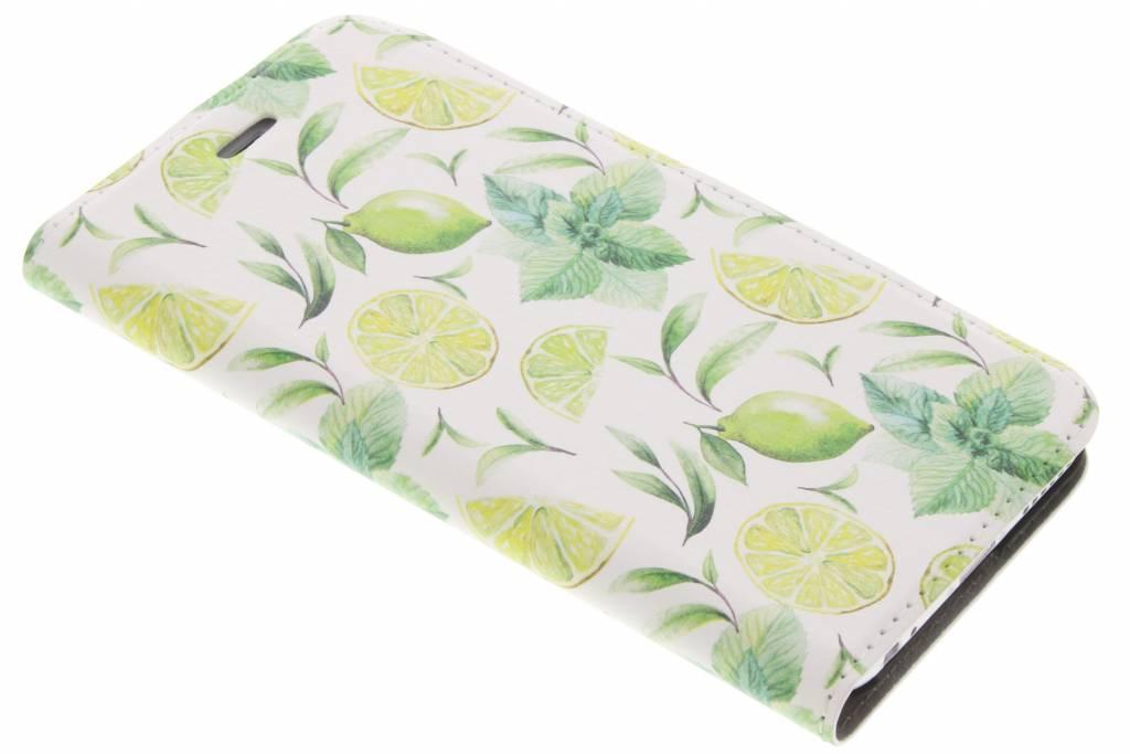 Lemons Watercolor Design Booklet voor de iPhone 6 / 6s