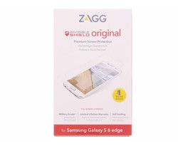 ZAGG Invisible Shield screenprotector Galaxy S6 Edge