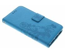 Klavertje bloemen booktype hoes Huawei Y5 2 / Y6 2 Compact