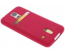 TPU siliconen card case Samsung Galaxy S5 (Plus) / Neo