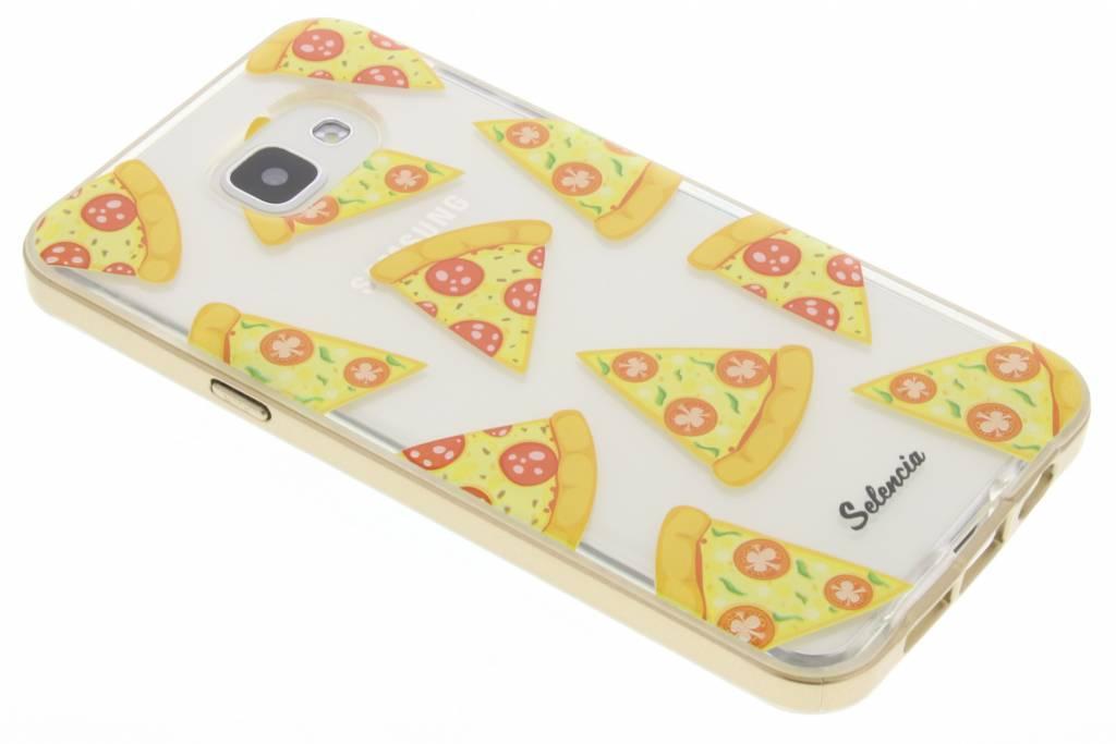 Selencia Foodies Pizza TPU hoesje voor de Samsung Galaxy A5 (2016)