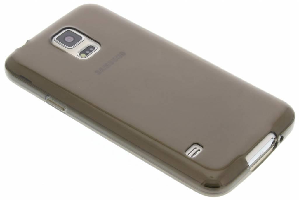 Grijze transparante gel case voor de Samsung Galaxy S5 (Plus) / Neo
