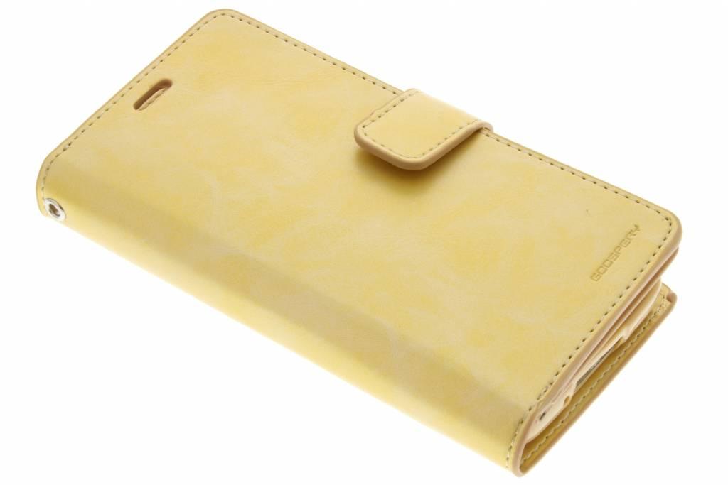 Mercury Goospery Mansoor Wallet Case voor de Samsung Galaxy S5 (Plus) / Neo - Goud