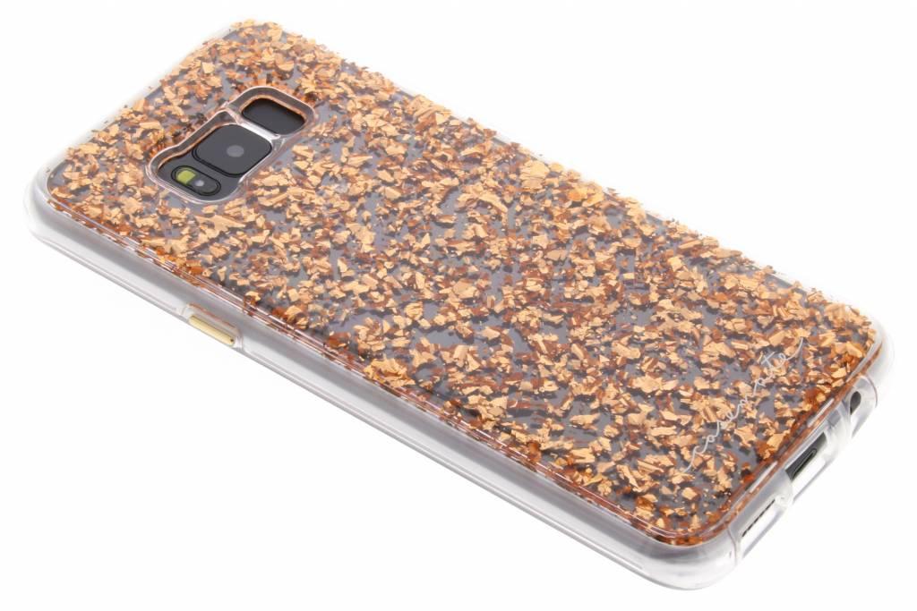 Cas De Paillettes D'or Liquide Pour Samsung Galaxy S8, Plus