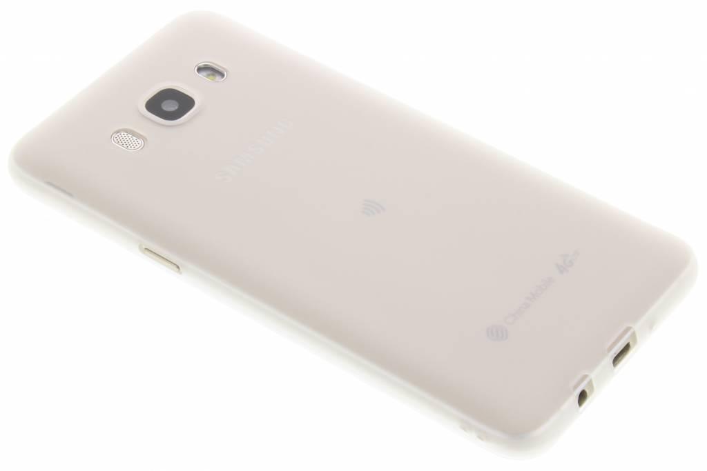 Wit Color TPU hoesje voor de Samsung Galaxy J5 (2016)