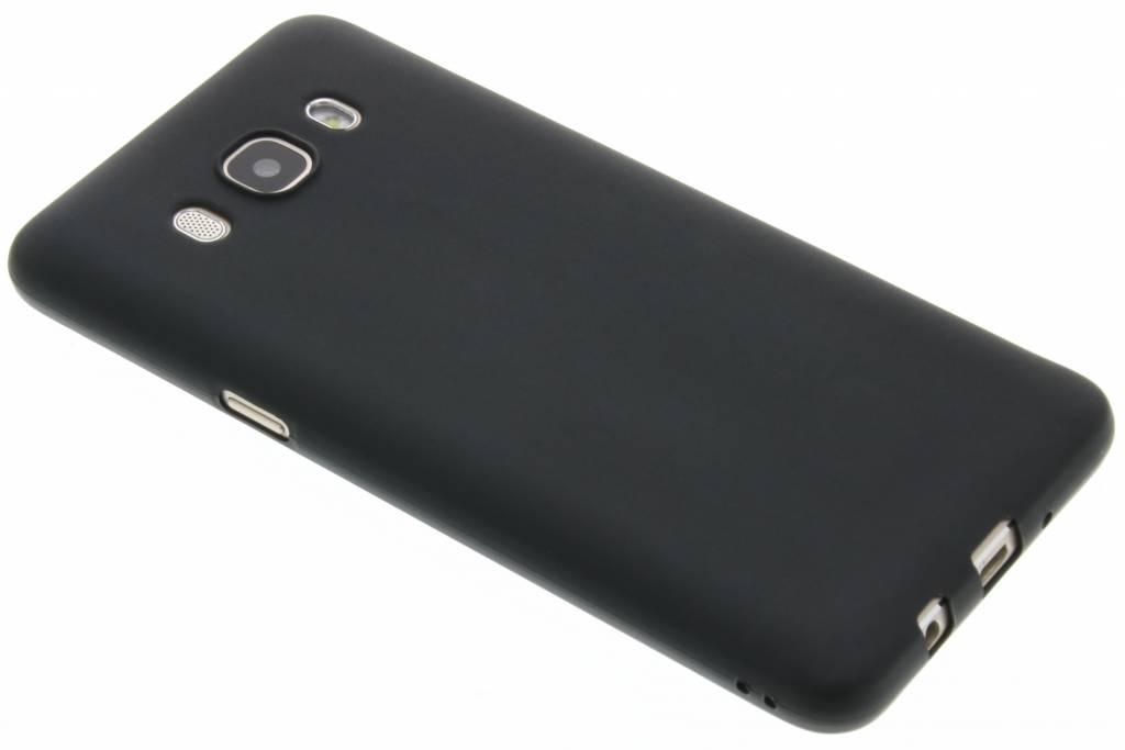 Zwart Color TPU hoesje voor de Samsung Galaxy J5 (2016)